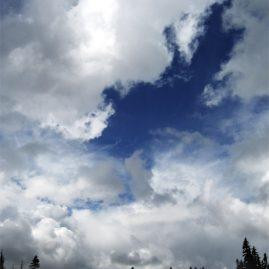 Cloudy Sky digital photo